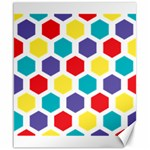 Hexagon Pattern  Canvas 20  x 24   24 x20 Canvas - 1
