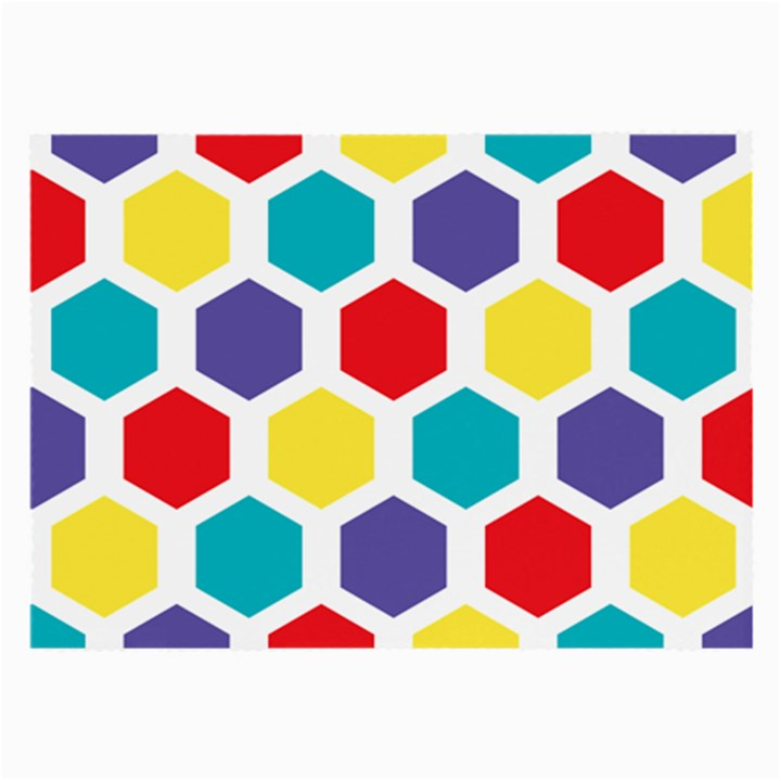 Hexagon Pattern  Large Glasses Cloth