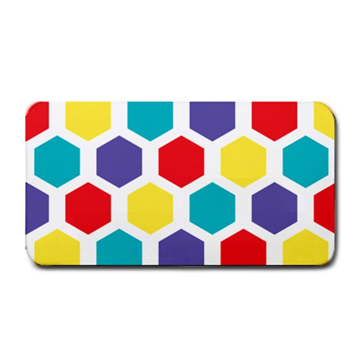 Hexagon Pattern  Medium Bar Mats