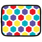 Hexagon Pattern  Netbook Case (Large) Front