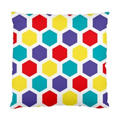 Hexagon Pattern  Standard Cushion Case (Two Sides)