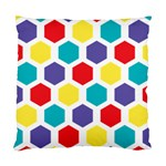 Hexagon Pattern  Standard Cushion Case (Two Sides) Back