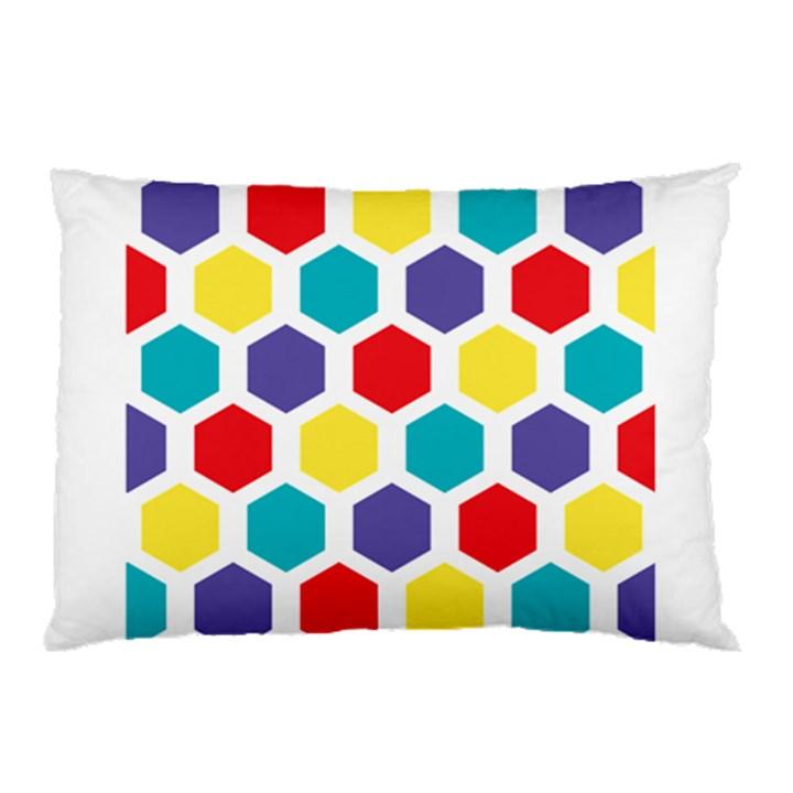 Hexagon Pattern  Pillow Case