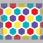 Hexagon Pattern  Canvas 10  x 8  10  x 8  x 0.875  Stretched Canvas