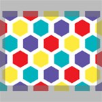 Hexagon Pattern  Canvas 16  x 12  16  x 12  x 0.875  Stretched Canvas