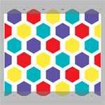 Hexagon Pattern  Canvas 20  x 16  20  x 16  x 0.875  Stretched Canvas