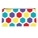Hexagon Pattern  Pencil Cases Front