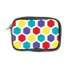 Hexagon Pattern  Coin Purse Front