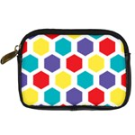 Hexagon Pattern  Digital Camera Cases Front
