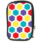 Hexagon Pattern  Compact Camera Cases Front