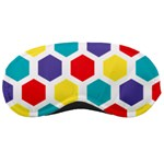 Hexagon Pattern  Sleeping Masks Front