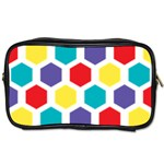 Hexagon Pattern  Toiletries Bags 2-Side Front