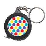 Hexagon Pattern  Measuring Tapes Front