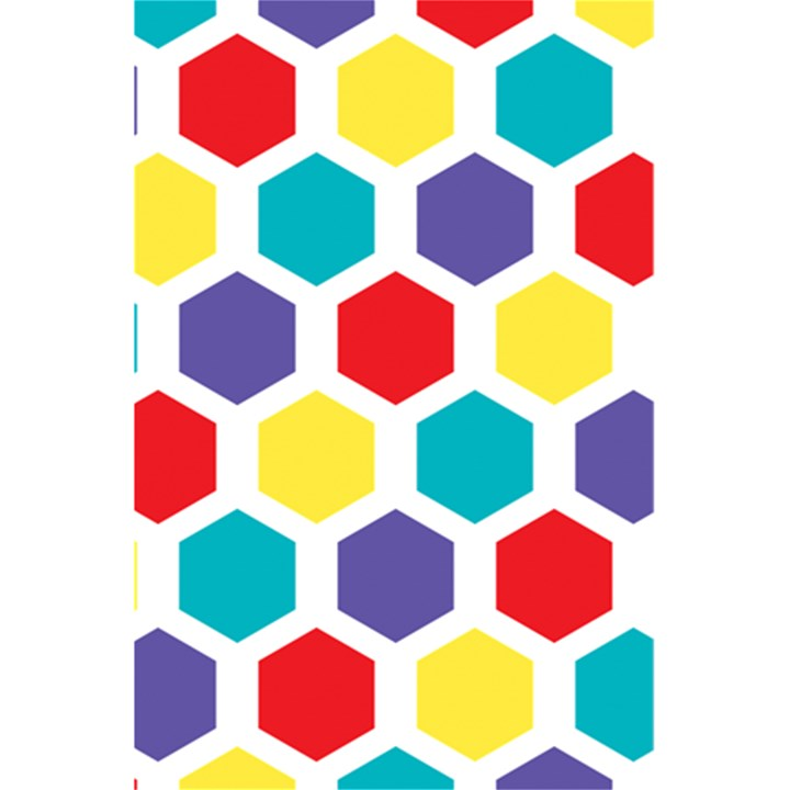 Hexagon Pattern  5.5  x 8.5  Notebooks