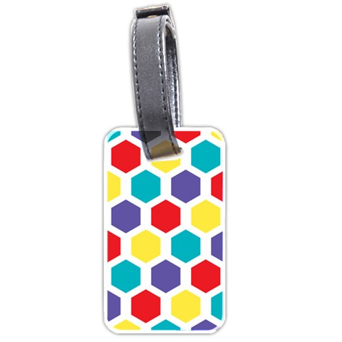 Hexagon Pattern  Luggage Tags (Two Sides)