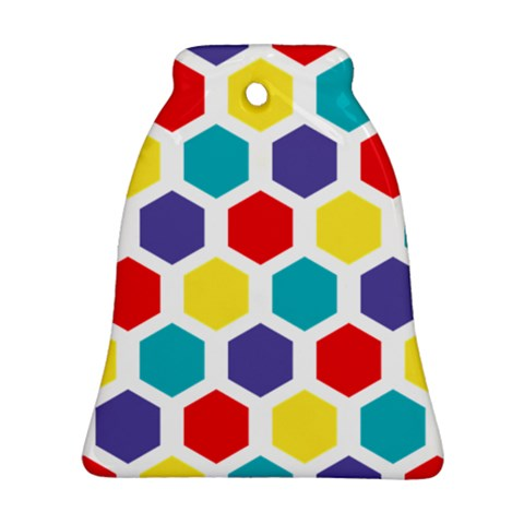 Hexagon Pattern  Ornament (Bell)
