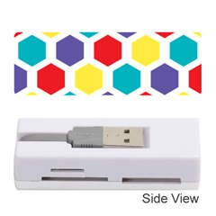 Hexagon Pattern  Memory Card Reader (Stick)