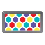 Hexagon Pattern  Memory Card Reader (Mini) Front