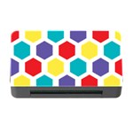 Hexagon Pattern  Memory Card Reader with CF Front