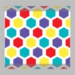 Hexagon Pattern  Deluxe Canvas 20  x 16   20  x 16  x 1.5  Stretched Canvas