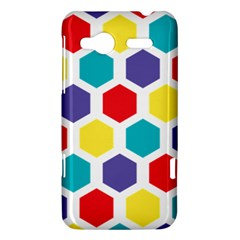 Hexagon Pattern  HTC Radar Hardshell Case