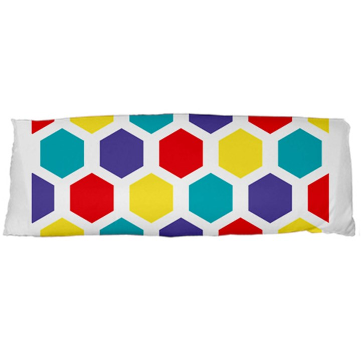 Hexagon Pattern  Body Pillow Case (Dakimakura)