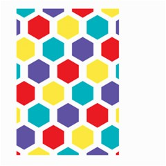 Hexagon Pattern  Large Garden Flag (Two Sides)