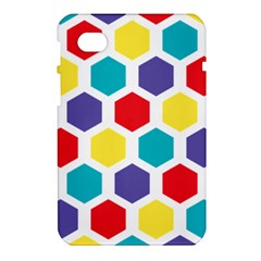Hexagon Pattern  Samsung Galaxy Tab 7  P1000 Hardshell Case