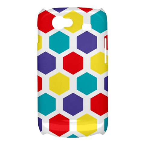 Hexagon Pattern  Samsung Galaxy Nexus S i9020 Hardshell Case