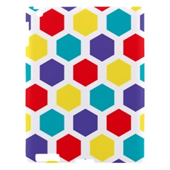 Hexagon Pattern  Apple iPad 3/4 Hardshell Case