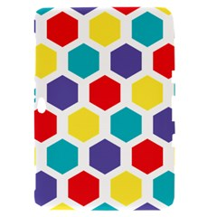 Hexagon Pattern  Samsung Galaxy Tab 8.9  P7300 Hardshell Case