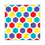 Hexagon Pattern  Acrylic Tangram Puzzle (6  x 6 ) Front