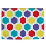 Hexagon Pattern  Cosmetic Bag (XXL)  Back