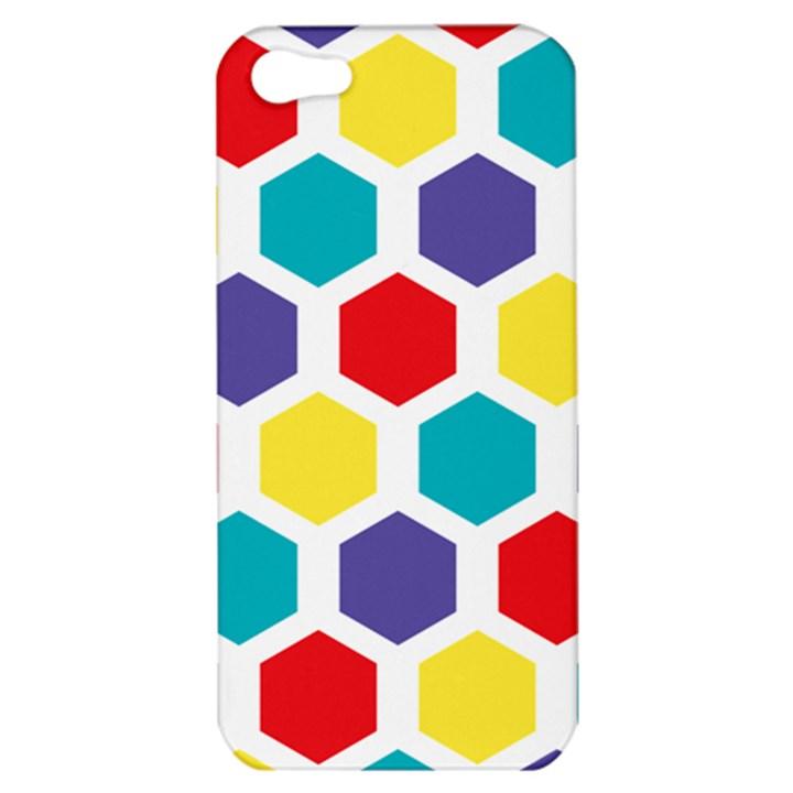 Hexagon Pattern  Apple iPhone 5 Hardshell Case