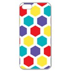 Hexagon Pattern  Apple Seamless iPhone 5 Case (Clear) Front