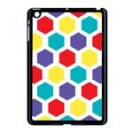 Hexagon Pattern  Apple iPad Mini Case (Black) Front