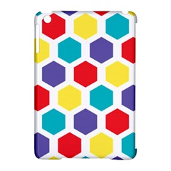 Hexagon Pattern  Apple iPad Mini Hardshell Case (Compatible with Smart Cover)