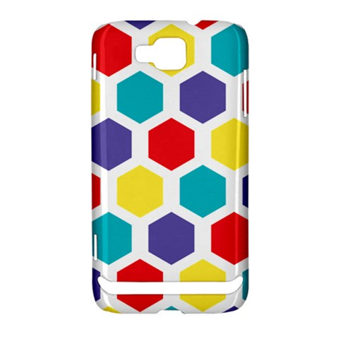 Hexagon Pattern  Samsung Ativ S i8750 Hardshell Case