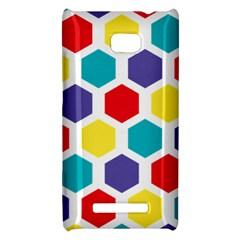 Hexagon Pattern  HTC 8X