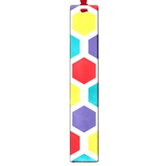 Hexagon Pattern  Large Book Marks