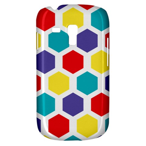 Hexagon Pattern  Samsung Galaxy S3 MINI I8190 Hardshell Case