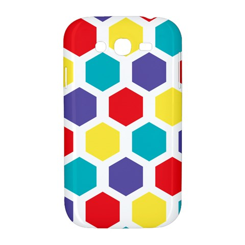 Hexagon Pattern  Samsung Galaxy Grand DUOS I9082 Hardshell Case