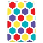 Hexagon Pattern  Flap Covers (S)  Front