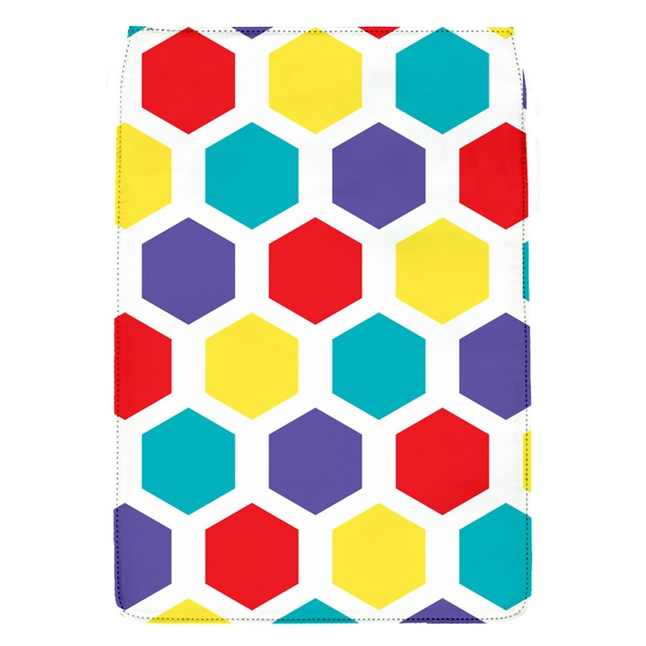 Hexagon Pattern  Flap Covers (S)