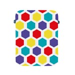 Hexagon Pattern  Apple iPad 2/3/4 Protective Soft Cases Front