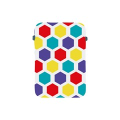 Hexagon Pattern  Apple iPad Mini Protective Soft Cases