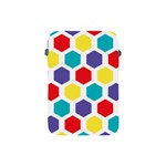 Hexagon Pattern  Apple iPad Mini Protective Soft Cases Front