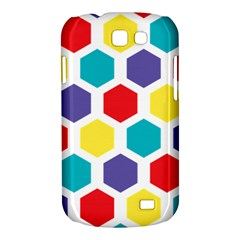 Hexagon Pattern  Samsung Galaxy Express I8730 Hardshell Case