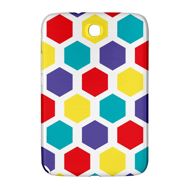 Hexagon Pattern  Samsung Galaxy Note 8.0 N5100 Hardshell Case
