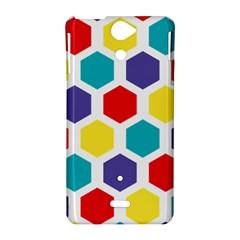 Hexagon Pattern  Sony Xperia V